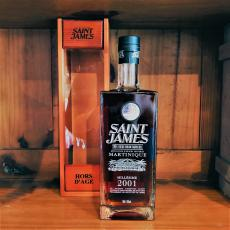 SAINT JAMES Millejime 2001 【Rhum】
